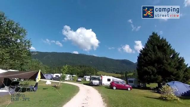 Camping de Martinière  St Pierre de Chartreuse Rhône-Alpes FR